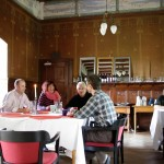Mahlzeit im Rittersaal